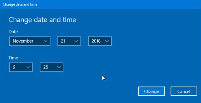 Cara Mengatur Jam dan Tanggal Windows