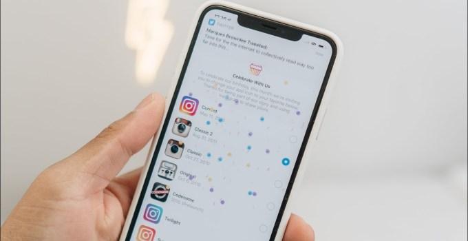 10 tahun beroperasi, Instagram ajak pengguna kenang logo lama
