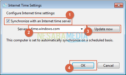 Internet Time Settings
