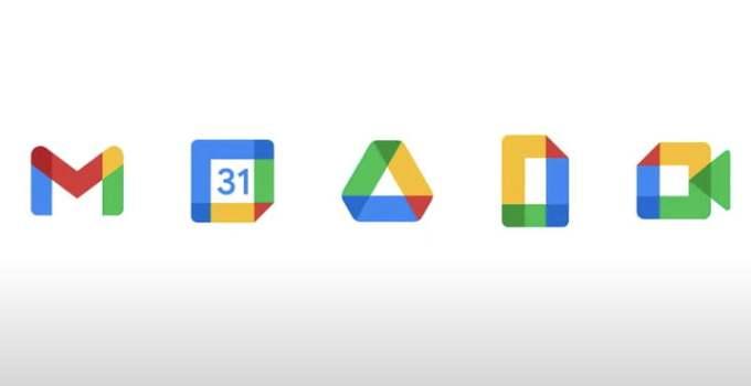google logo baru gmail dan workplace