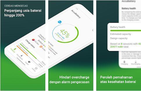 Aplikasi Cek Kesehatan Baterai untuk Android