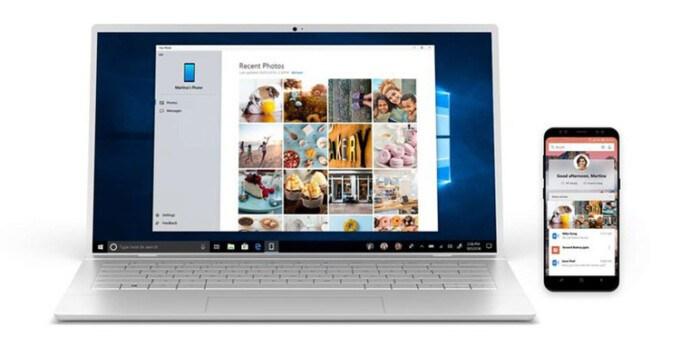Microsoft Your Phone Windows 10 Multi App