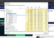 Windows 10 Task Manager Quick Terminate