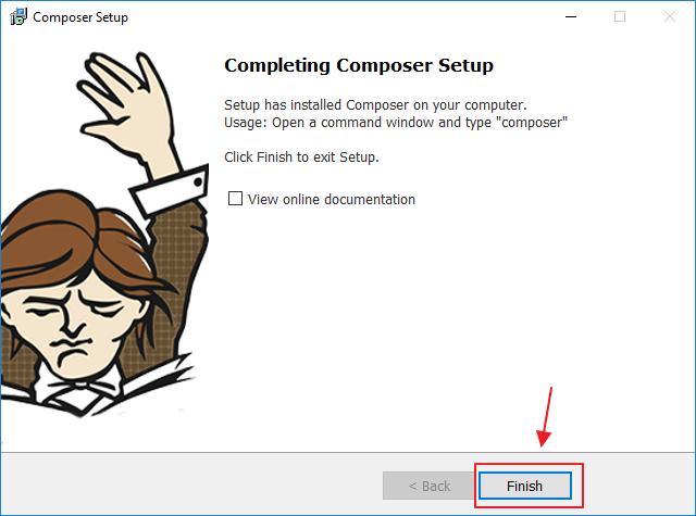 install composer