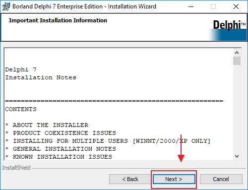 Cara Menginstall Delphi 7 di Windows 10