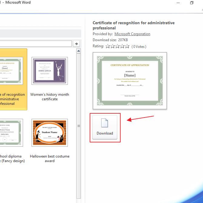 Cara Membuat Sertifikat di Microsoft Word