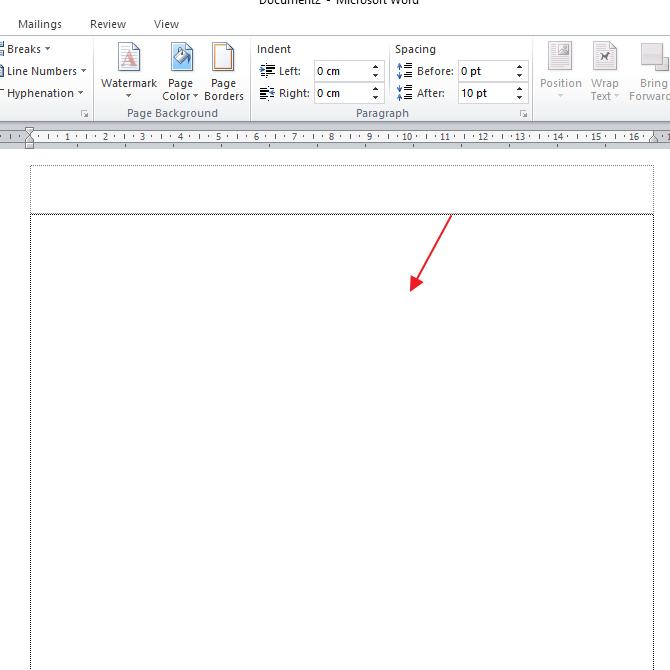 Cara Menghilangkan Watermark di MS Word