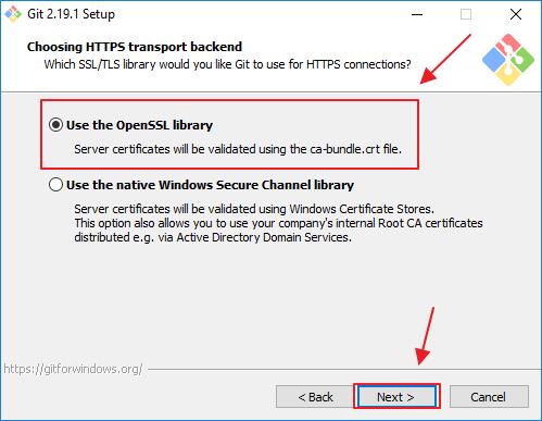 Installer GIT