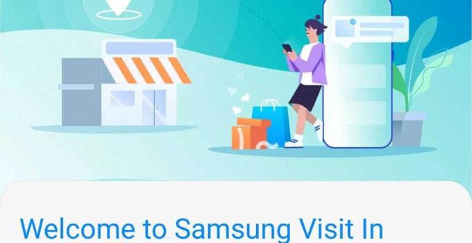 Aplikasi Samsung Visit In Iklan