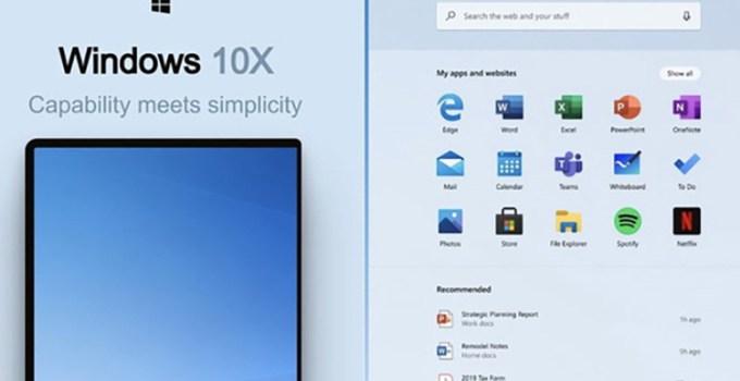 Microsoft Windows 10X Modern Standby