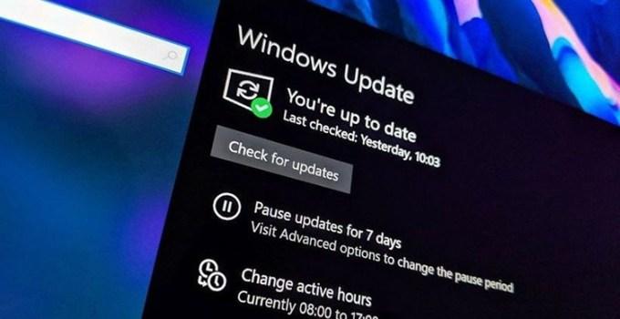 Pembaruan Windows 10 Iron Build