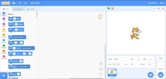 Pengertian Bahasa Pemrograman Scratch
