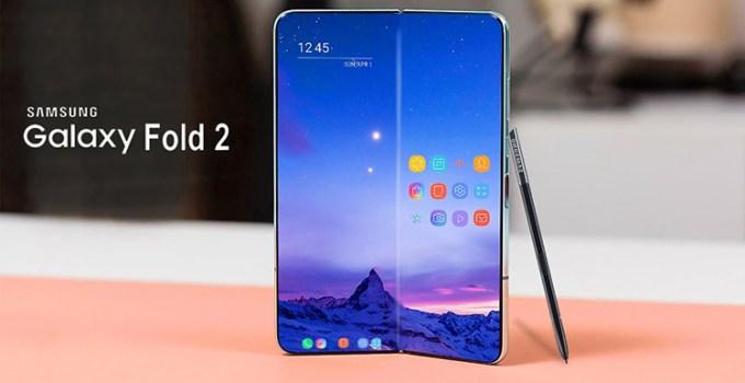 Smartphone Lipat Samsung Galaxy Fold 2