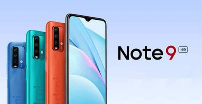 Xiaomi Redmi Note 9 4G Smartphone