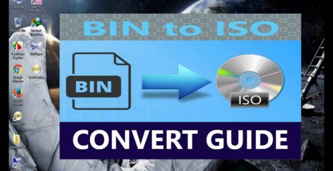 Cara Convert BIN ke ISO di PC / Laptop