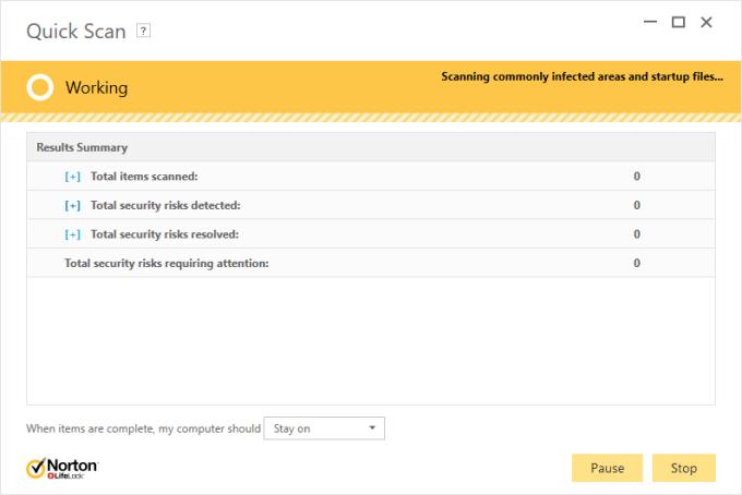  Cara Scanning Virus dengan Norton Antivirus