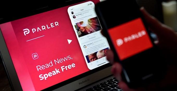 Aplikasi Sosmed Parler Diblokir