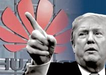 Donald Trump Cabut Izin Perusahaan Pemasok Huawei
