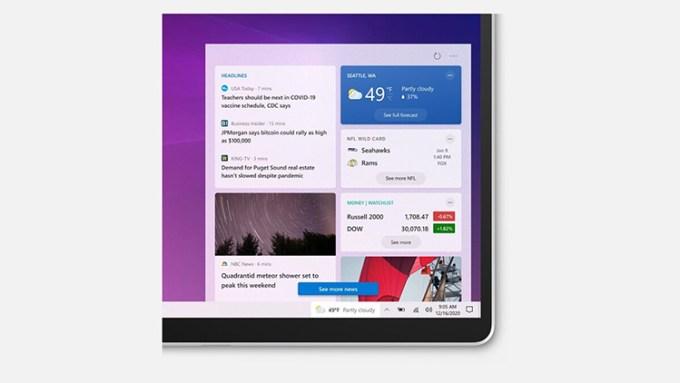 Fitur Berita Cuaca Windows 10
