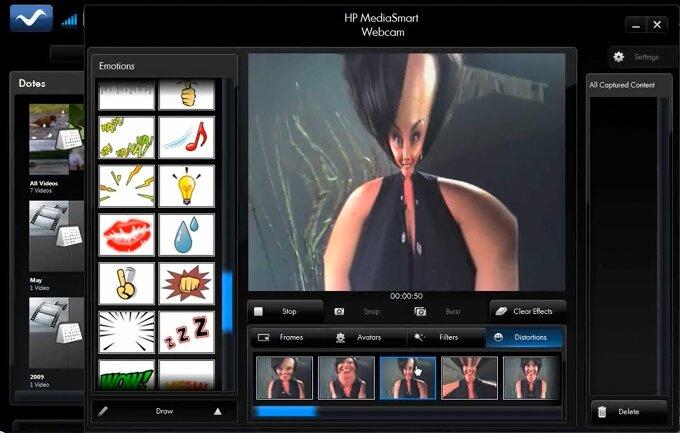 HP MediaSmart Webcam