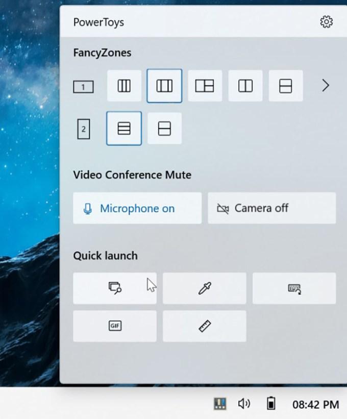 System Tray Baru Microsoft PowerToys
