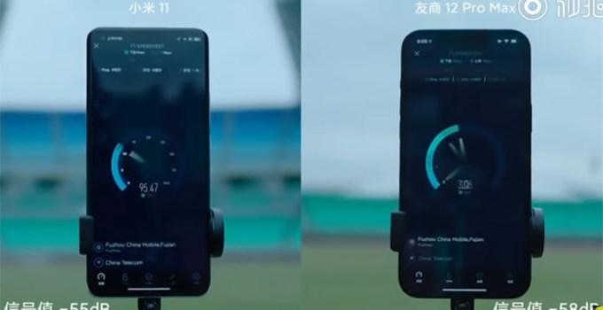 Tes Kecepatan Wi-Fi Xiaomi Mi 11 dan iPhone 12 Pro Max