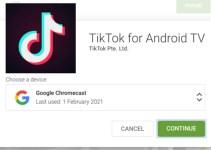 Aplikasi Tik Tok untuk TV Android