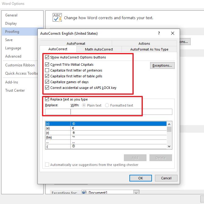 Cara Mengaktifkan Autocorrect di Microsoft Word 2010