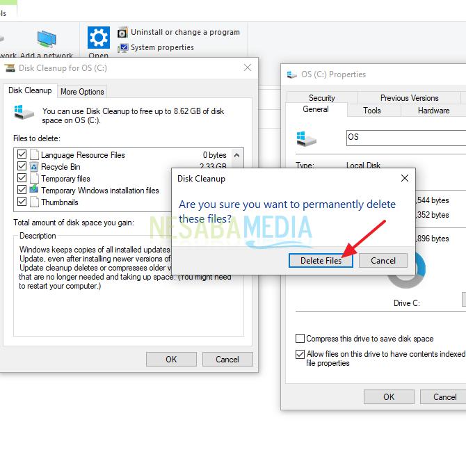 klik delete files
