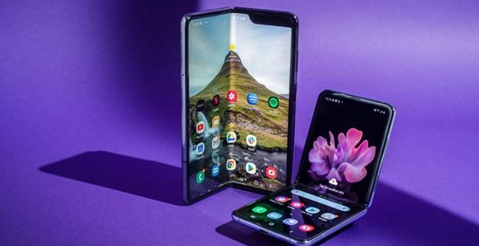 Layar Smartphone Lipat Samsung Display