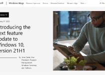Microsoft Pembaruan Fitur Windows 10 21H1