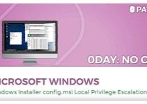 Perbaikan Bug Zero Day Windows Installer
