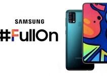 Smartphone Samsung Galaxy F62