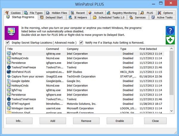 Download WinPatrol Terbaru
