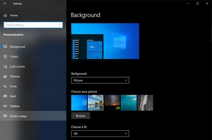 Windows 10 Device Usage