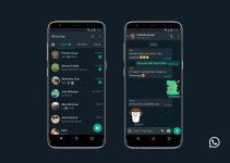 Cara Mengaktifkan Dark Mode Whatsapp Android