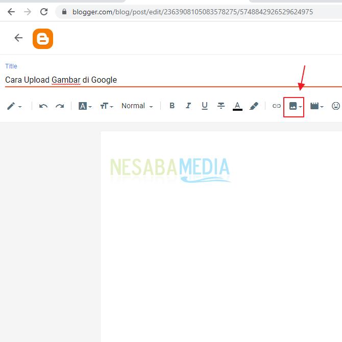 Cara Upload Foto di Google dengan Posting Di Blog