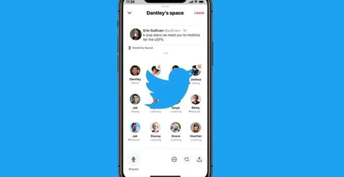 Fitur Spaces di Twitter