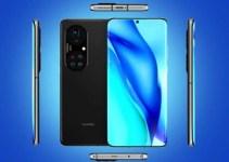 Smartphone Huawei P50 Desain
