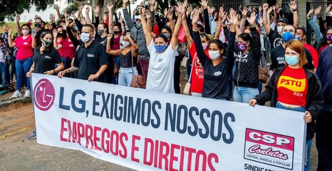 LG Juga Tutup Pabrik Smartphone di Brazil, Ratusan Pekerja Gelar Demo