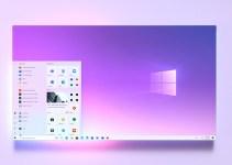 Tampilan Aplikasi Windows 10 Dengan Ujung Membulat Bocor