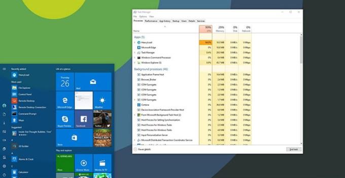 Task Manager Windows 10 Akan Diintegrasikan Dengan Browser Edge