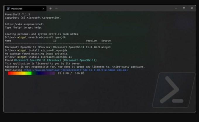 Ujung Membulat di Windows Terminal