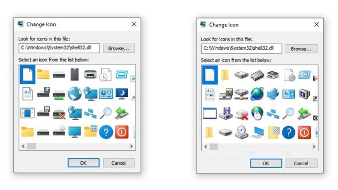 Ikon Baru Windows 10