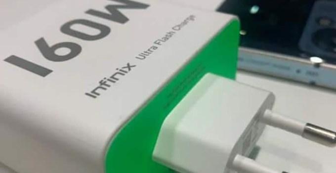 Infinix Kembangkan Teknologi Ultra Flash Charge 160W