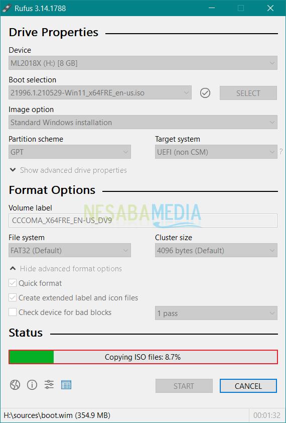 bootable flashdisk windows 11
