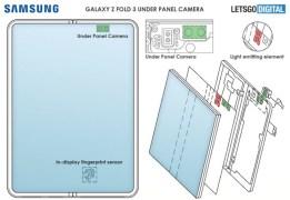 Paten Samsung Kamera Bawah Layar di Smartphone Lipat