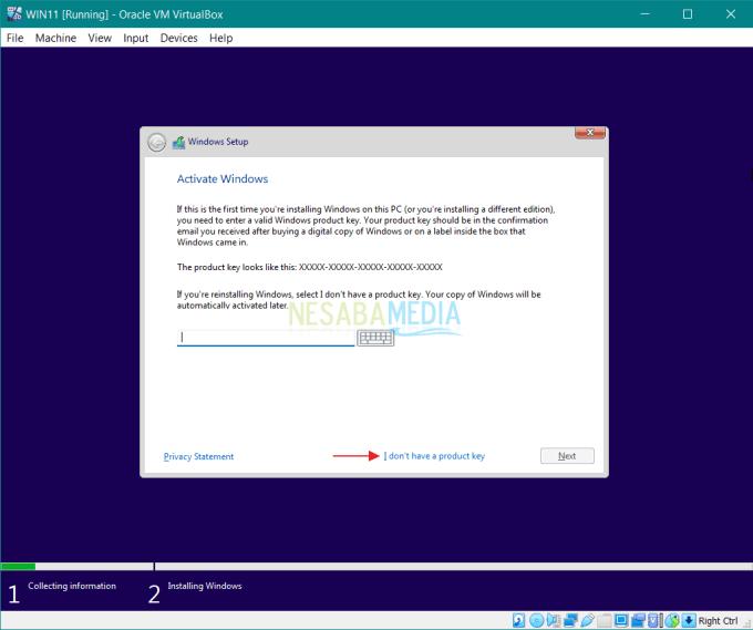 Cara Install Windows 11 di VirtualBox