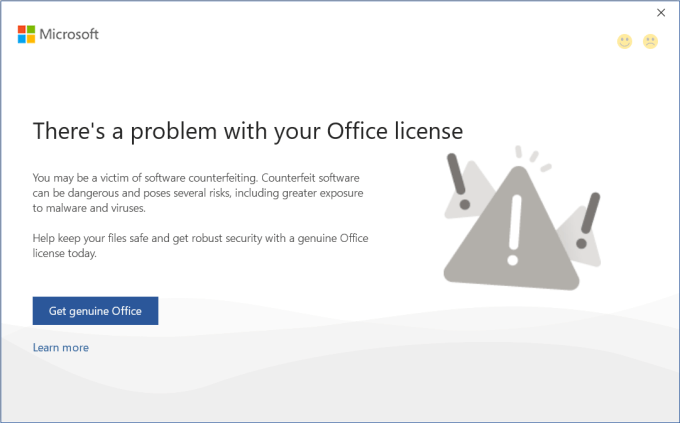 mengatasi there a problem with your office license 1
