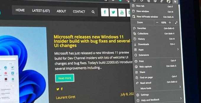 Browser Edge Dapatkan Tampilan Baru Untuk Windows 11